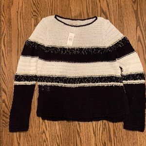 NWT chunky knit summer sweater from loft